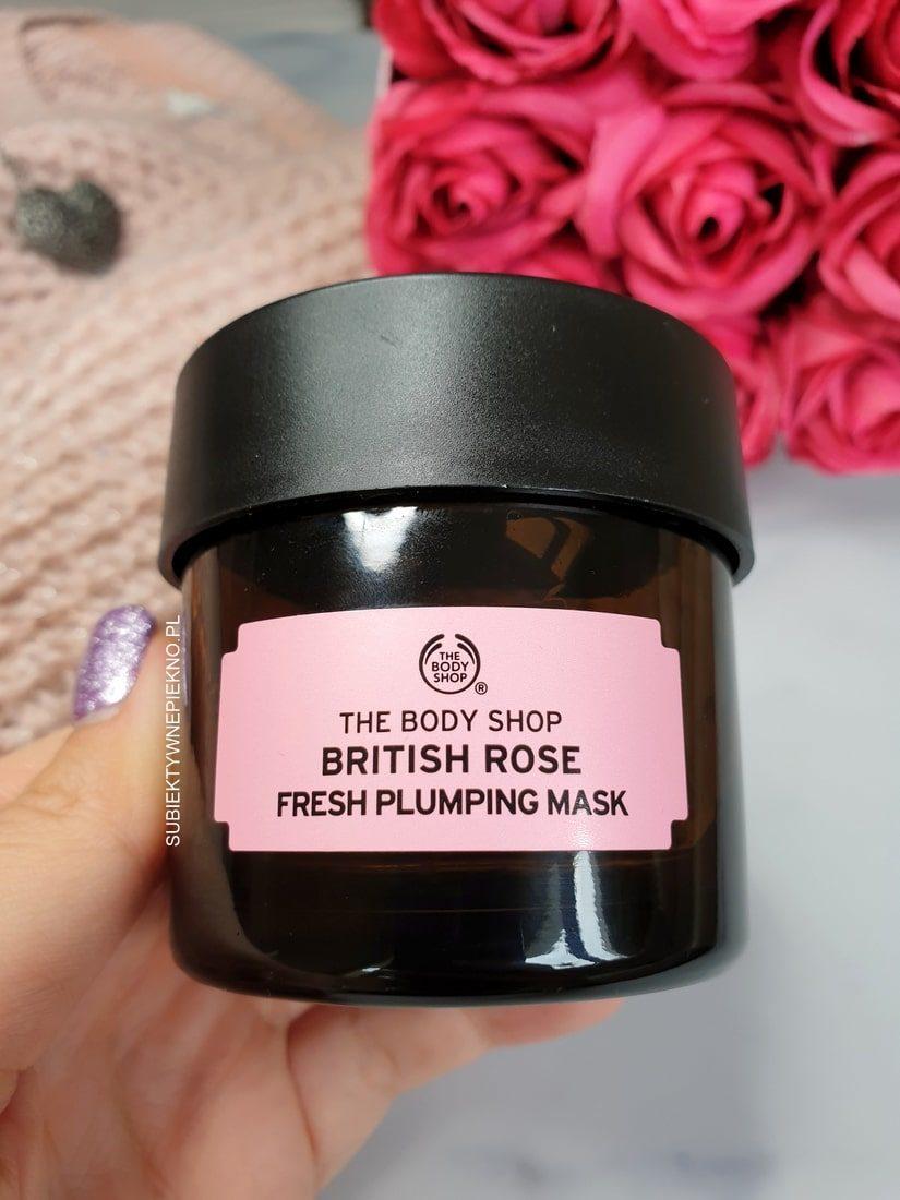 Maska różana The Body Shop British Rose opinie, działanie, blog