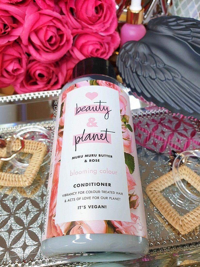Odżywka Love Beauty and Planet opinie Muru Muru i Róża | Perfumy do włosów!