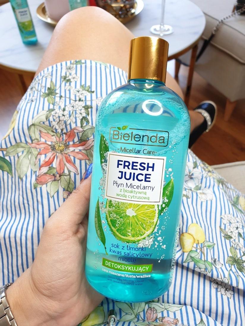 Bielenda Fresh Juice płyn micelarny limonka