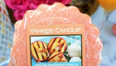 Grilled Peaches & Vanilla Yankee Candle opinie, blog