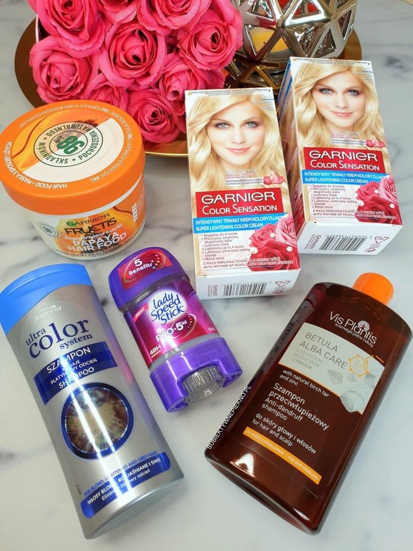 Zakupy włosowe - Garnier, Joanna, Vis Plantis Betula Alba Care