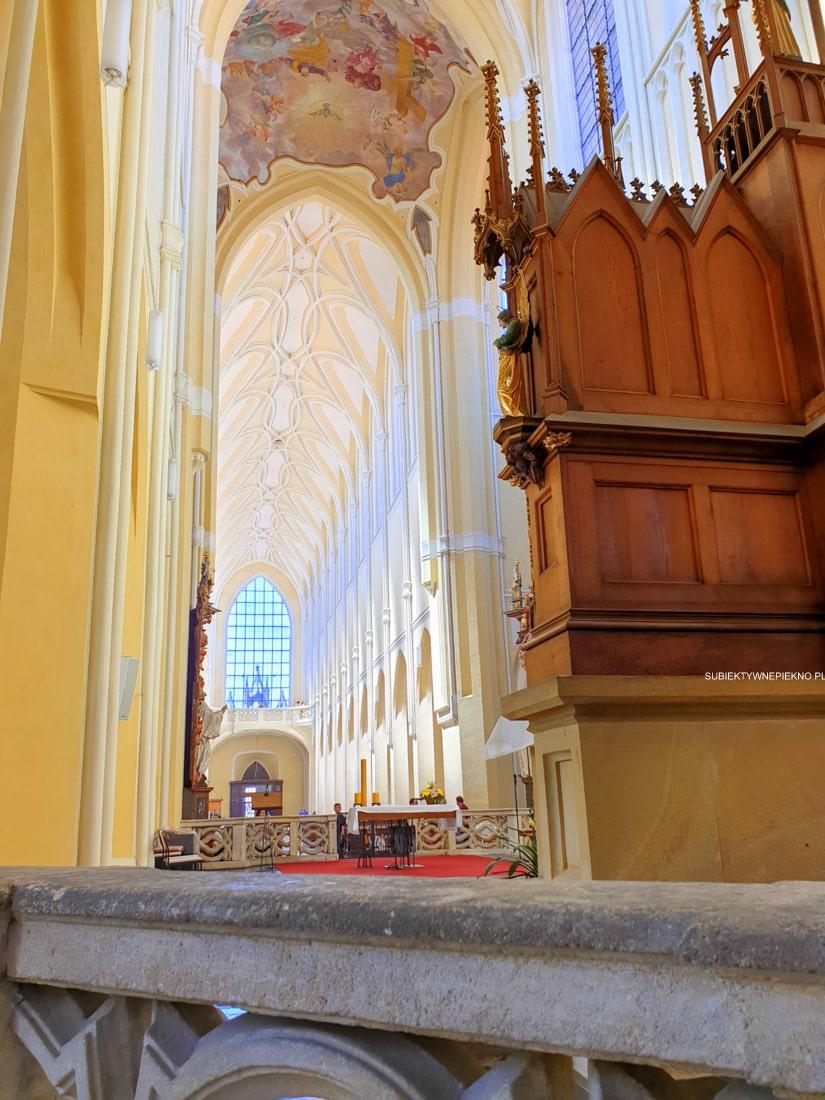 Kutna Hora Kościół Wniebowzięcia Marii Panny i Jana Chrzciciela