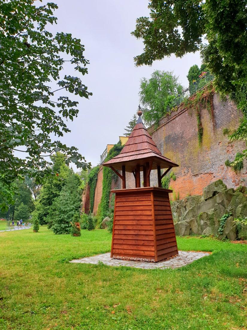 Ołomuniec co zobaczyć Park Petra Bezruce