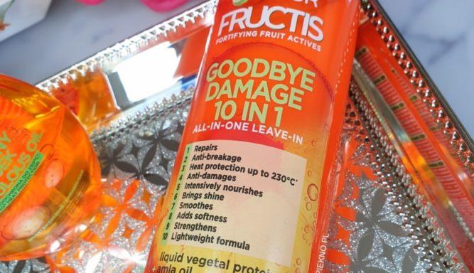 Garnier Fructis Goodbye Damage krem do włosów