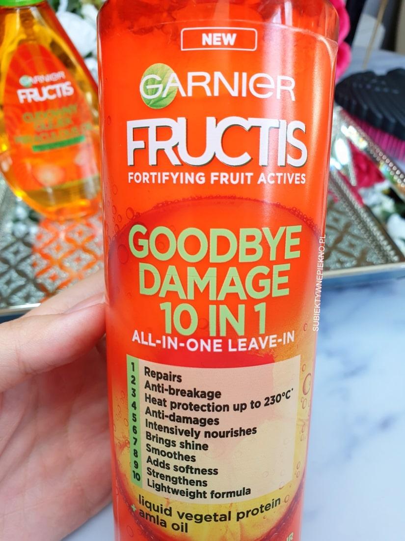 Garnier Goodbye Damage krem do włosów