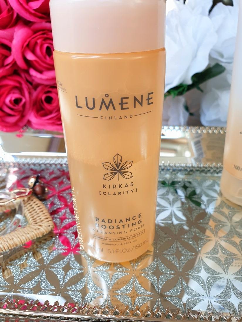 Lumene Clarity pianka do mycia twarzy rozświetlająca