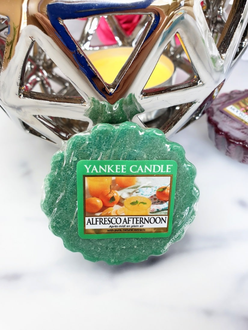 Alfresco Afternoon Yankee Candle opinie