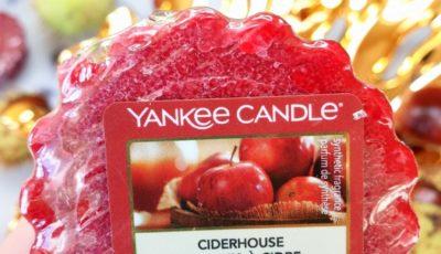 Ciderhouse Yankee Candle - opinie, recenzja, blog