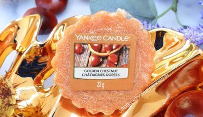Golden Chestnut Yankee Candle - opinie, recenzja, blog