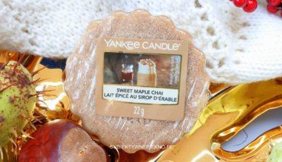 Sweet Maple Chai Yankee Candle - opinie, recenzja, blog